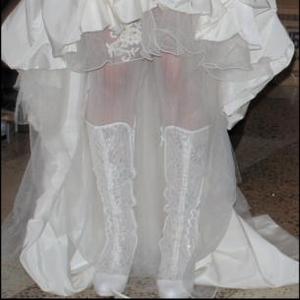 Продам свадебное платье,  после химчистки.